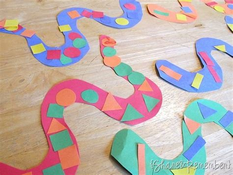 kindergarten pattern craft snake patterns 187 share remember celebrating child home