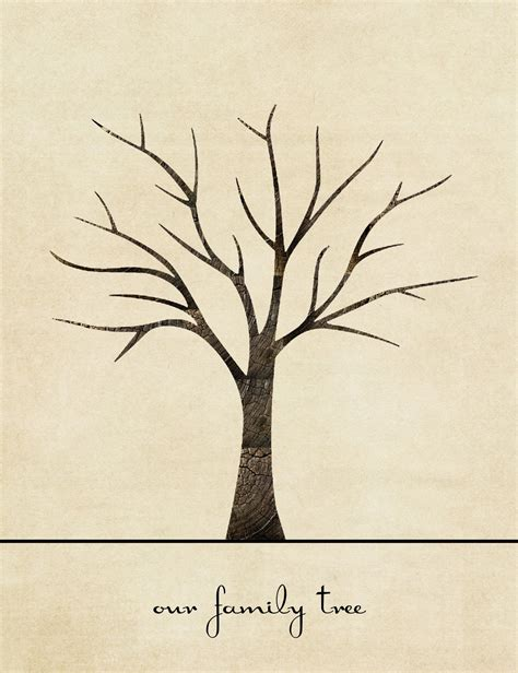 thumbprint tree template family tree template family tree template boxes