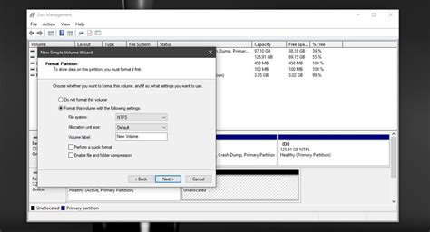 format cd ntfs how to partition a usb or sd card with disk management in