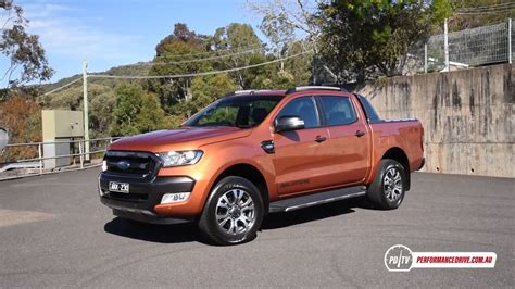 ford ranger wildtrak  kmh engine sound youtube