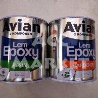 Lem Epoxy Merj Avian jual avian lem epoxy resin hardener murah dan terlengkap