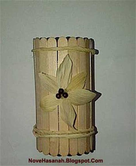 Tempat Pensil Semi Kulit cara membuat kerajinan tangan dari kulit jagung