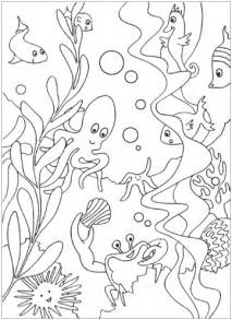sea coloring pages the sea coloring pages mr printables