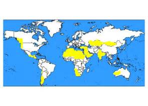 World Map Of Deserts by Gallery For Gt World Desert Map
