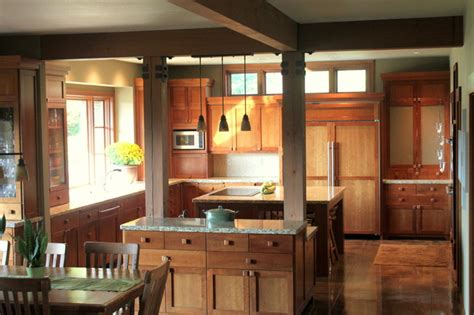 lodge kitchen lodge style kitchen traditional kitchen seattle by