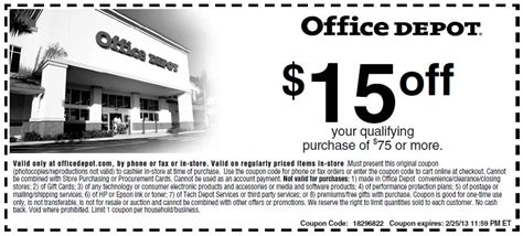 Office Depot Coupons Retailmenot Office Depot Coupons Vistaprint Office Max Staples Promo