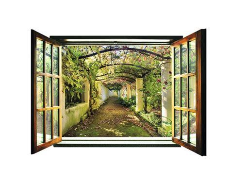 Fototapete Fenster Garten by Fototapete Fenster Garten Olegoff