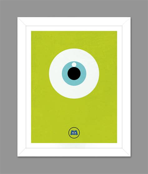 digital inc digital monsters inc big eye poster by