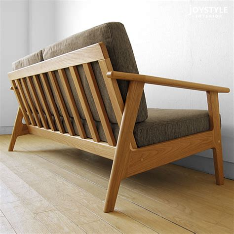 wooden frame sofa joystyle interior rakuten global market there is three