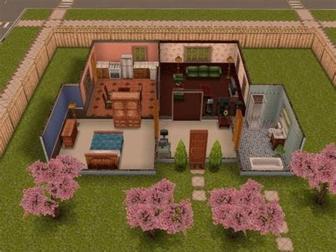 building a one bedroom house the sims freeplay house guide part one the girl who games