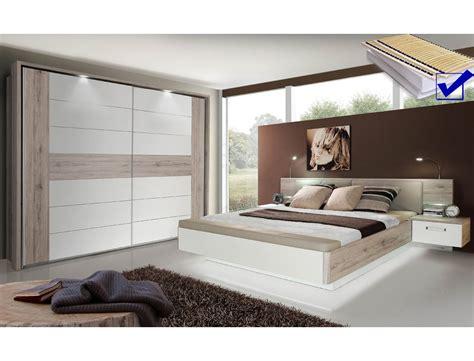 schlafzimmer rubio 20b sandeiche wei 223 bett komplett nako - Schlafzimmer Sandeiche