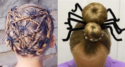 Spiderweb Hairstyle by Makeup Spider Webs And Hair Mugeek Vidalondon
