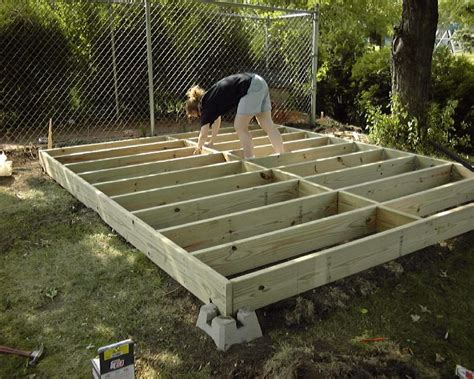 Foundation For Plastic Shed by Building Shed Slope Pdf Build Wood Shed Foundation