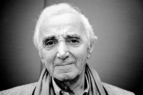 charles aznavour charles aznavour french singer composer