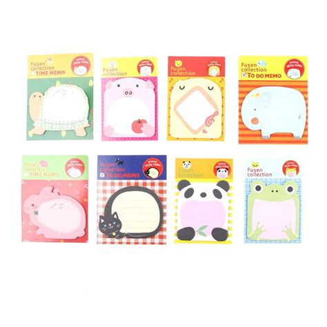 Animal Sticker Stiker Post It 1 pcs office stationery sticker forest animal sticker post it marker memo pad flags sticky