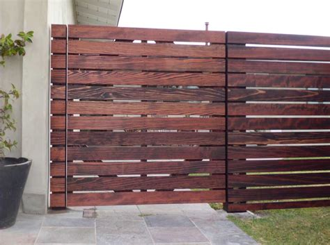 horizontal wood fence horizontal wood fence wood fence ideas home interior