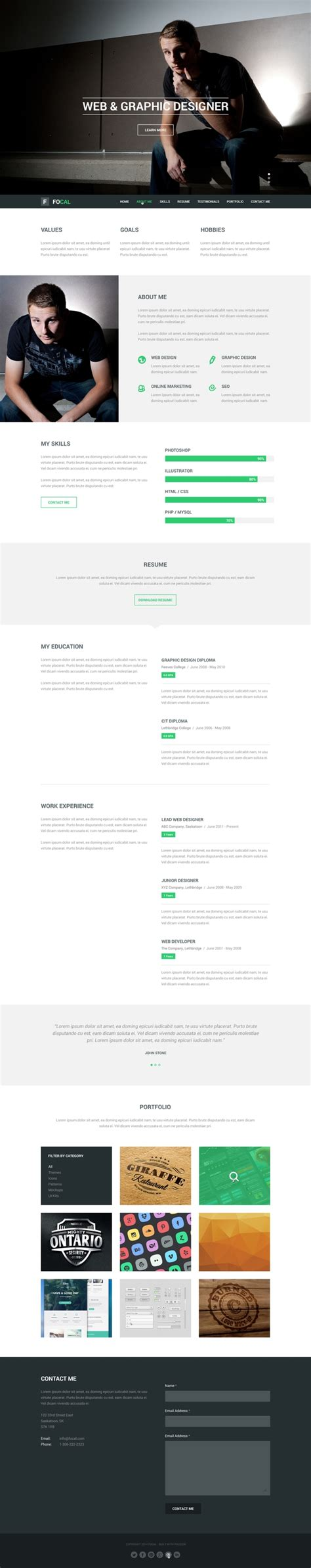 Free Psd Web Templates 2016