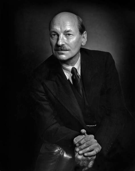 Clement Attlee – Yousuf Karsh