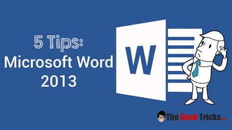 The Best Tips Trick Ms Office Word Arista Prasetyo Adi five microsoft word 2013 tips for a simpler way to work
