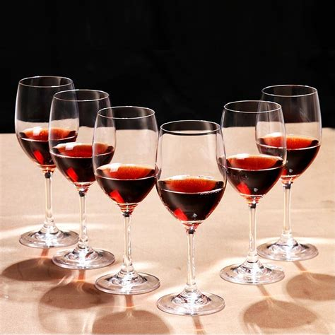 cheap glass wine glasses 450ml red wine glasses wholesale