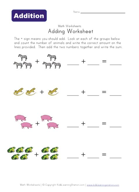 easy addition worksheets maths worksheets for kg1 1000 images about kindergarten on ordinal numbers math