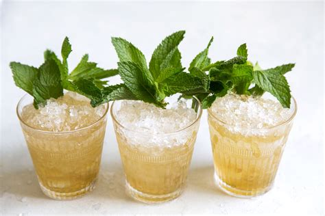 Mint Julep Bourbon Cocktail The Epicurean