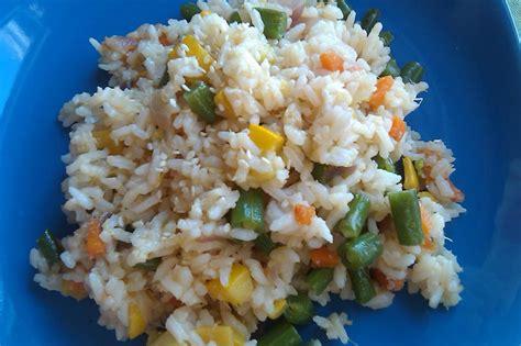 Garden Vegetable Rice Fresh Garden Vegetable Fried Rice Chef Tom Cooks