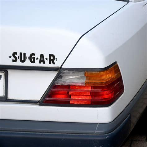 Autoaufkleber Schwarz by Autoaufkleber Sugar Schwarz S T G T Stuttgart Shirts