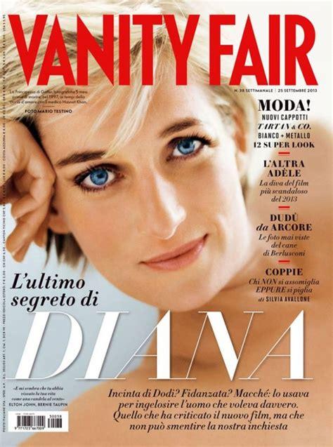sulla vanit diana sulla cover di vanity fair italia settembre