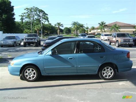 Kia Spectra Light 2003 Light Atlantic Blue Kia Spectra Sedan 31331727 Photo