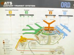 Chicago O Hare Airport Map by Chicago Airport Map Map O Hare United States Of America