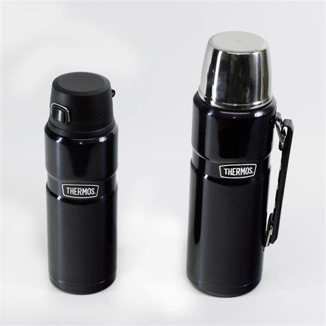 thermos vacuum insulated 24 oz matte black drink bottle