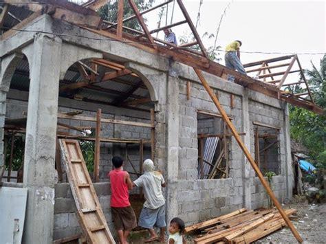 Building a concrete block house ? part 6   Philippines