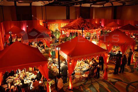 Charming Christmas Light Installation Las Vegas #3: 7.Multiple-Red-and-Orange-Pergolas-and-Pavilions.jpg