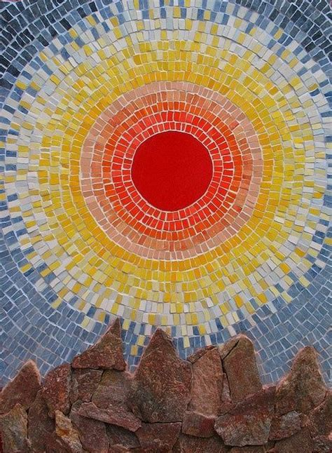 mosaic pattern for sun 51 best mosaic patio table ideas images on pinterest