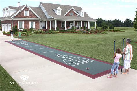 backyard shuffleboard court backyard shuffleboard court 28 images shuffleboard