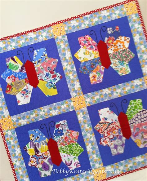 Butterflies Quilt by Debby Kratovil Quilts Revisting Butterflies