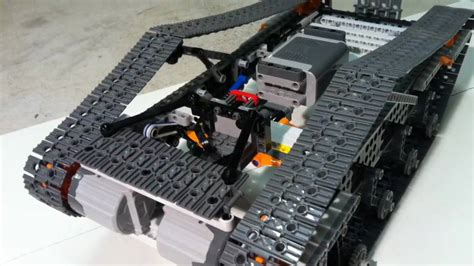 tutorial lego power functions lego power functions tank youtube