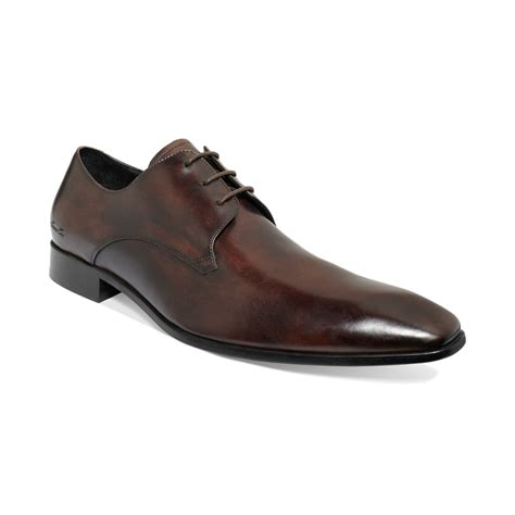 tip top shoes for kenneth cole tip top laceup shoes in brown for lyst