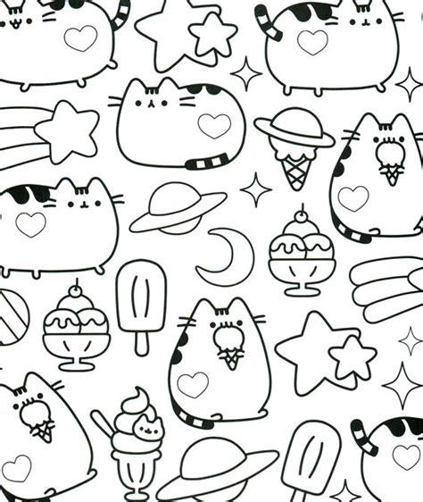 Pusheen Coloring Book Pusheen Pusheen The Cat Pusheen Coloring Book Pinterest Book Page Print