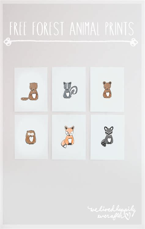printable animal pictures for nursery 24 awesome nursery wall prints that cost 0 free