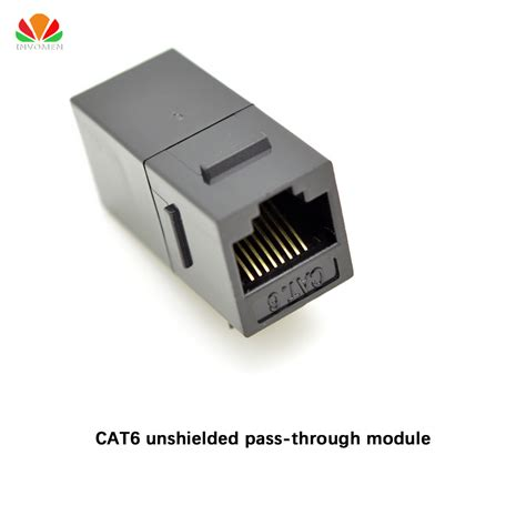 Converter Usb To Utp aliexpress buy cat6 unshielded pass through module