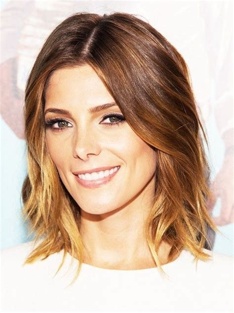 lob hair cuts for fine hair how to style a wavy lob haircut newhairstylesformen2014 com