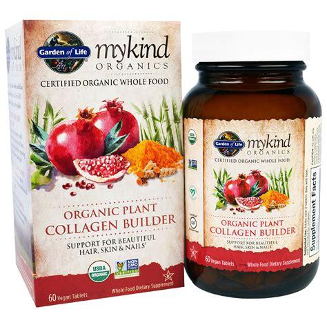 rebuild hair program wjole food garden of life mykind organics organic plant collagen