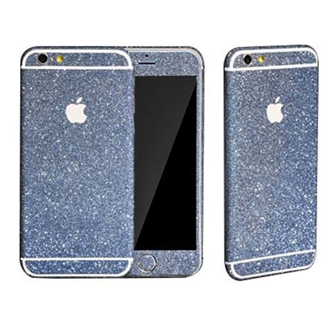 Glitzer Folie Iphone 6 Plus by Glitzer Folie Iphone 6 Blau Dr Phone