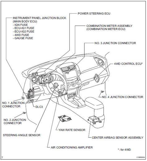 toyota rav4 parts diagram toyota rav4 service manual parts location can communication
