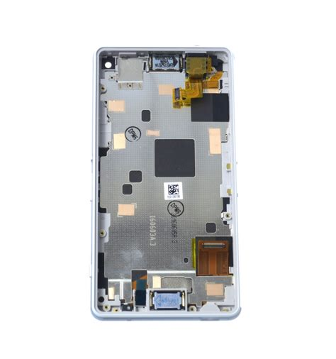 Lcd Toushcreen Sony Xperia Z3 Original lcd touch screen front panel white original for sony xperia z3 compact d5803 1289 2680