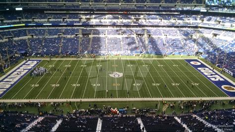 lucas oil stadium sections indianapolis colts lucas oil stadium section 613