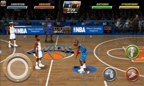 best basketball for android nba jam for android
