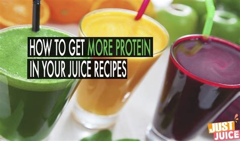 protein juice recipe protein juice a simple guide to get more protein while